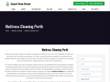 Professional Mattress Cleaning in Perth