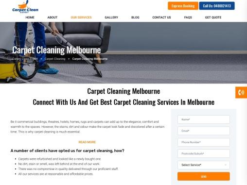 Best Carpet Cleaning service Melbourne