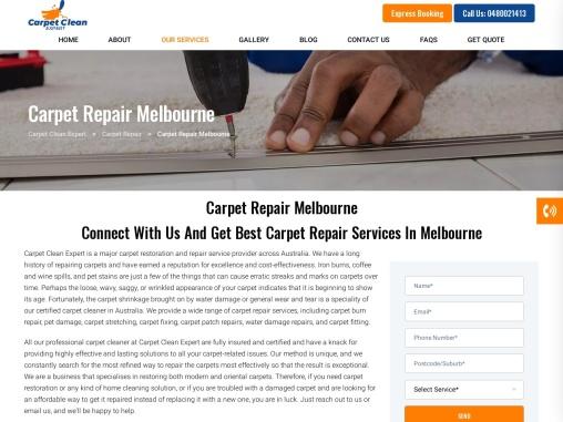 Best Carpet Repairs service Melbourne