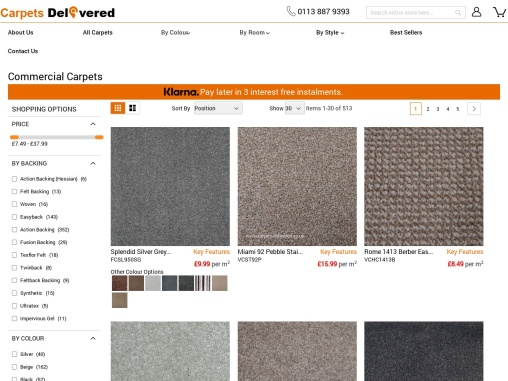 Want to create a stylish space in your office? Buy Office Carpet!