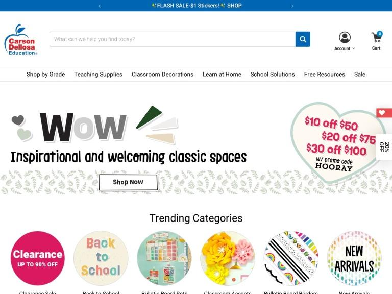 Carson Dellosa Education screenshot
