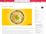 Types of delicious instant noodles | Maggi instant noodles
