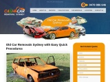 Old Car Removal Service in Sydney