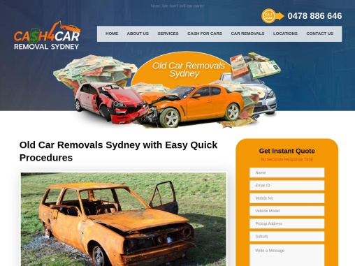 Old Car Removal Services in Sydney