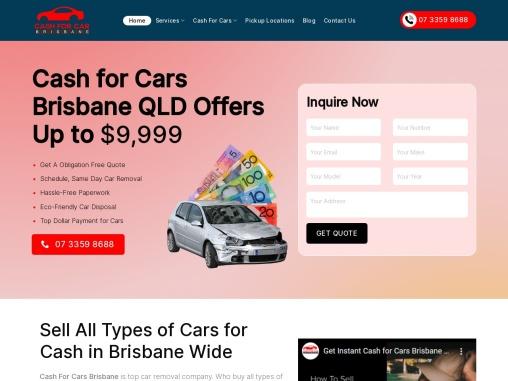Top cash for car brisbane Australia