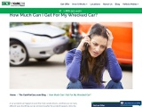Cash For Cars – How Much For Wrecked Car