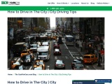 How to Drive in The City   City Driving Tips