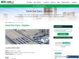 Cash For Cars | Fast Cash Cars | Junk Cars Online