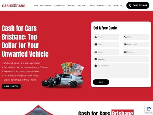 Top cash for cars brisbane Australia