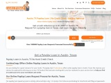 Online Payday Loans in Austin Texas