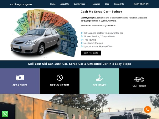 Cash For Cars Sydney and Sell junk car Perth