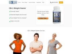 Cb-1 Weight Gainer By Supragenix. screenshot