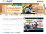 Packers and Movers in Bangalore, India