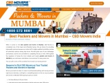 Best Packers and Movers in Mumbai