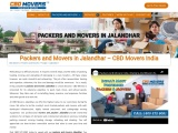 Best Packers and Movers Jalandhar | CBD Movers India