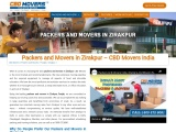 Reliable Packers and Movers in Zirakpur, Punjab