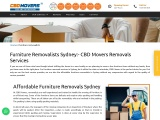 Furniture Removalists Services in Sydney