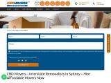Interstate Removalists Sydney – CBD Movers Sydney