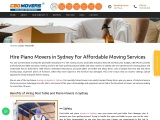 Cheap Piano Removals Services in Sydney