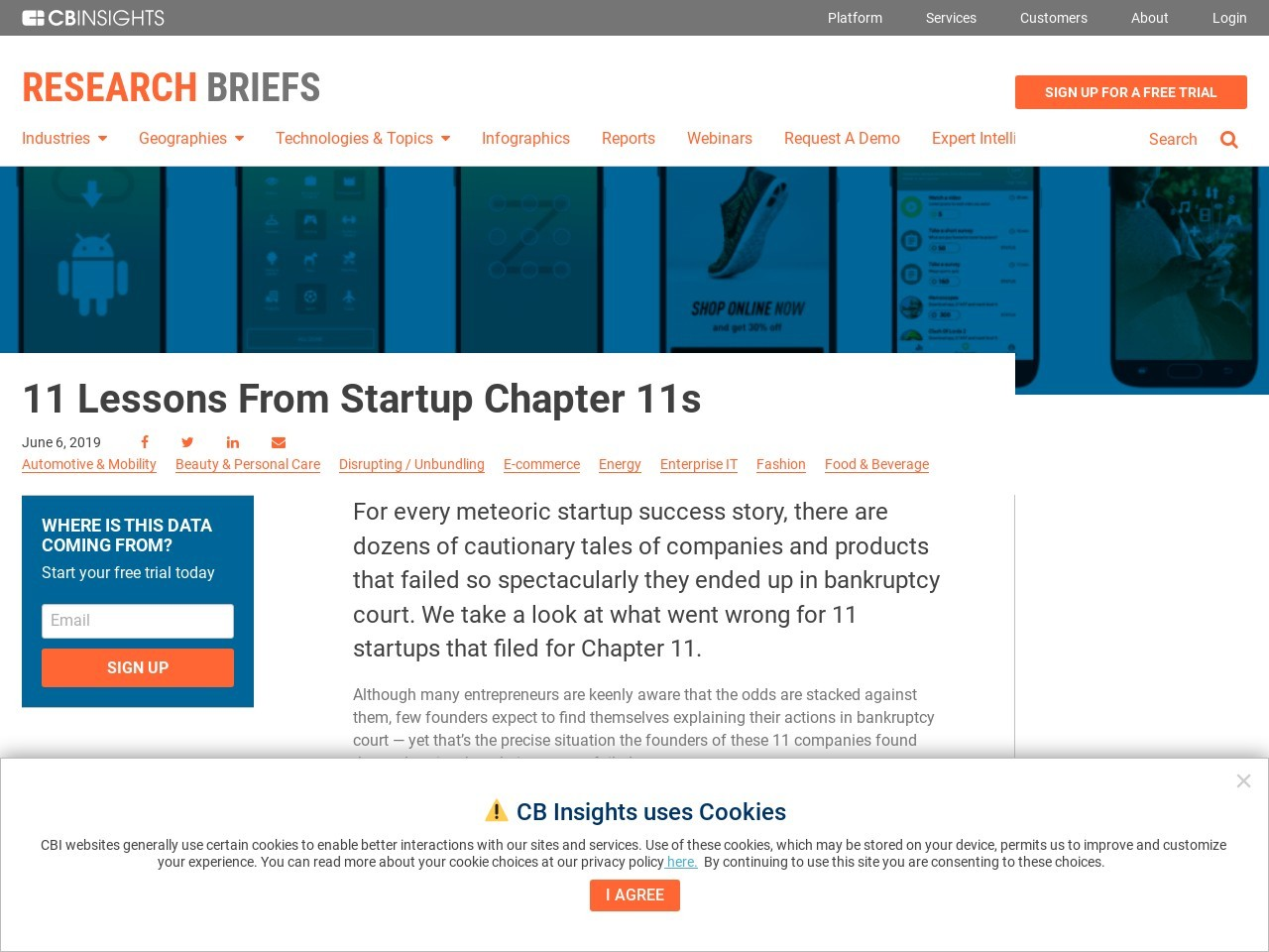 11 Lessons From Startup Chapter 11s
