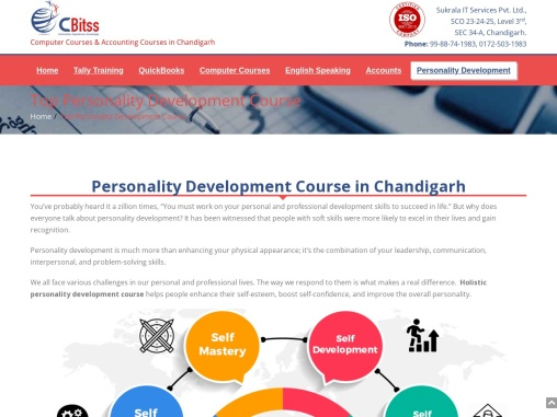 Personality Development Course in Chandigareh
