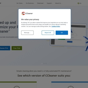 Clean & speed up your slow PC | CCleaner Official Website