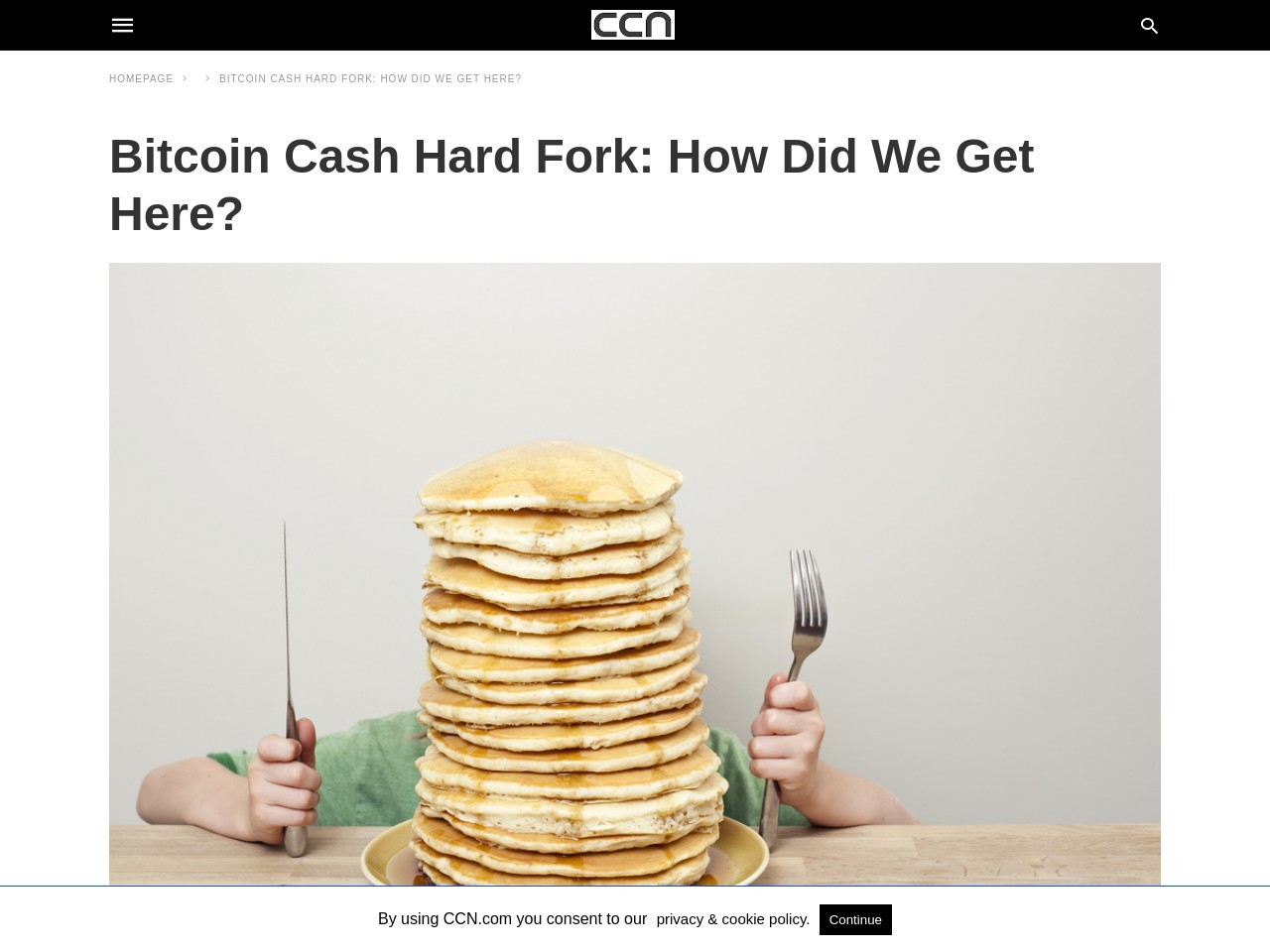 Bitcoin Cash Hard Fork: How Did We Get Here?