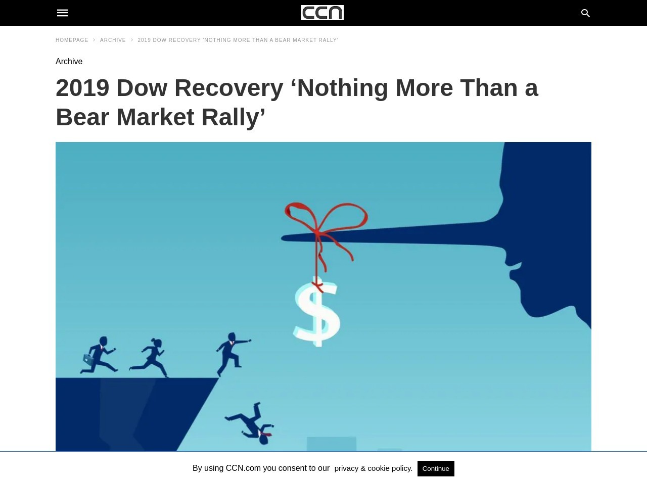 2019 Dow Recovery 'Nothing More Than a Bear Market Rally'