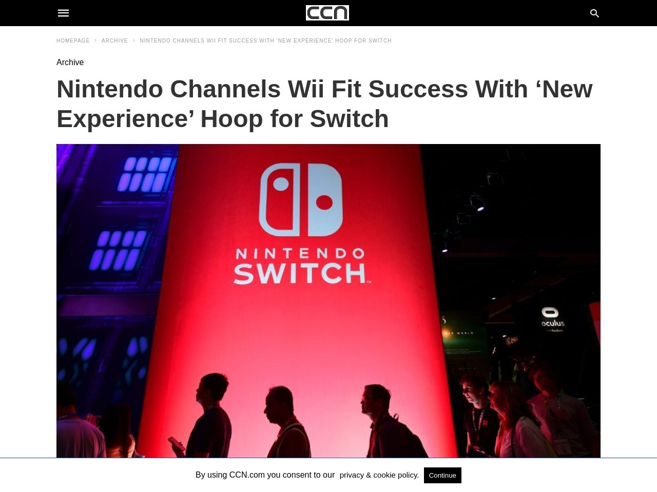 Nintendo Channels Wii Fit Success With 'New Experience' Hoop for…