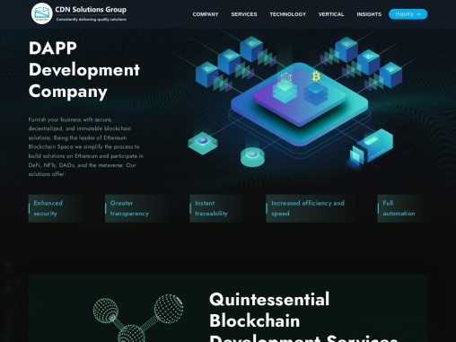 Blockchain Development Company – Hire Blockchain Developer