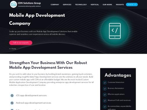 Mobile app Development Company USA, INDIA