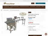 Chocolate Enrobing Machine 30kg | Chocolate Enrober for Sale