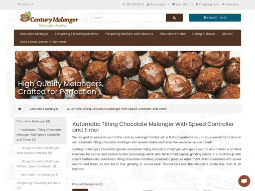 Chocolate Making Machine Stone Melanger for sale Chocolate Stone Grinder