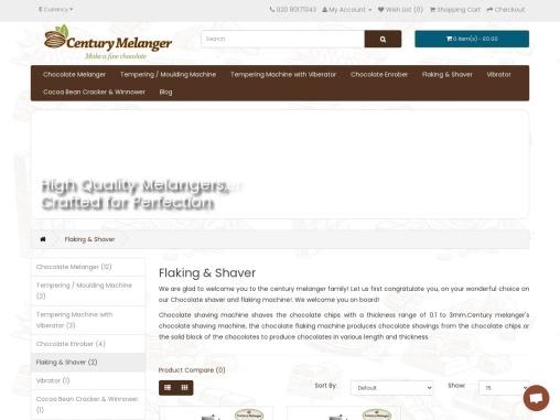 Chocolate Flaking Machine | Chocolate Shaving Machines UK