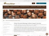 Automatic Chocolate Machine  Melangers  Cocoa bean grinder  Century Melanger