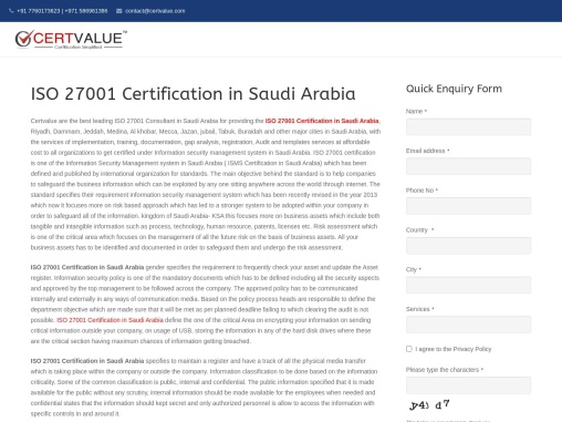 What to consider in security terms and conditions for employees according to ISO 27001 in Saudi Arab