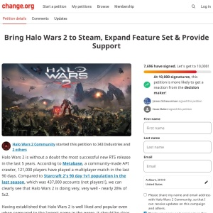 https://www.change.org/p/bring-halo-wars-2-to-steam-expand-feature-set-provide-support