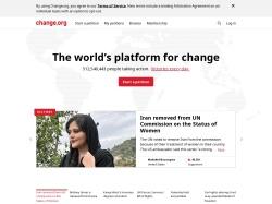 https://www.change.org