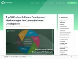 Read About Top 10 New Custom Software Development Techniques