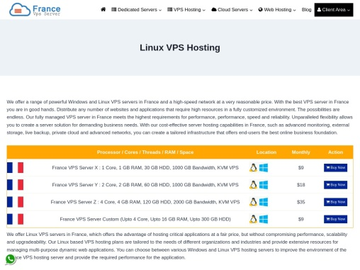 Buy Linux VPS Solution By Onlive Server