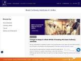 Best Culinary Institute in India | Chef IICA