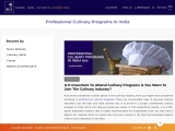 Professional Culinary Programs in India   Chef IICA
