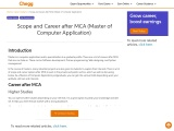 Scope and Career after MCA course