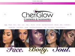 CheriGlow Cosmetics screenshot