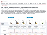 Best manual lawn mowers in India 2021 – Cherrycheck