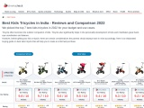 Best Tricycle for Kids in India 2021