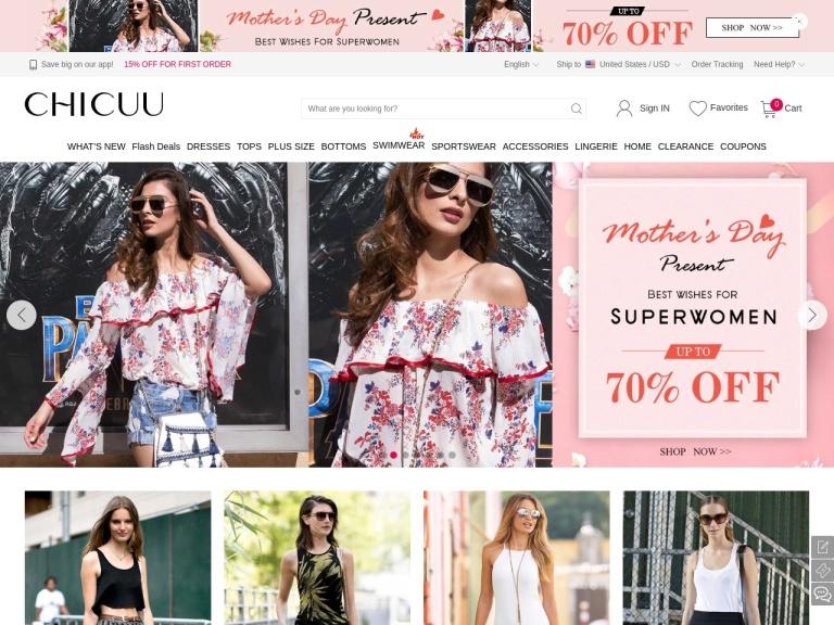 Chicuu screenshot