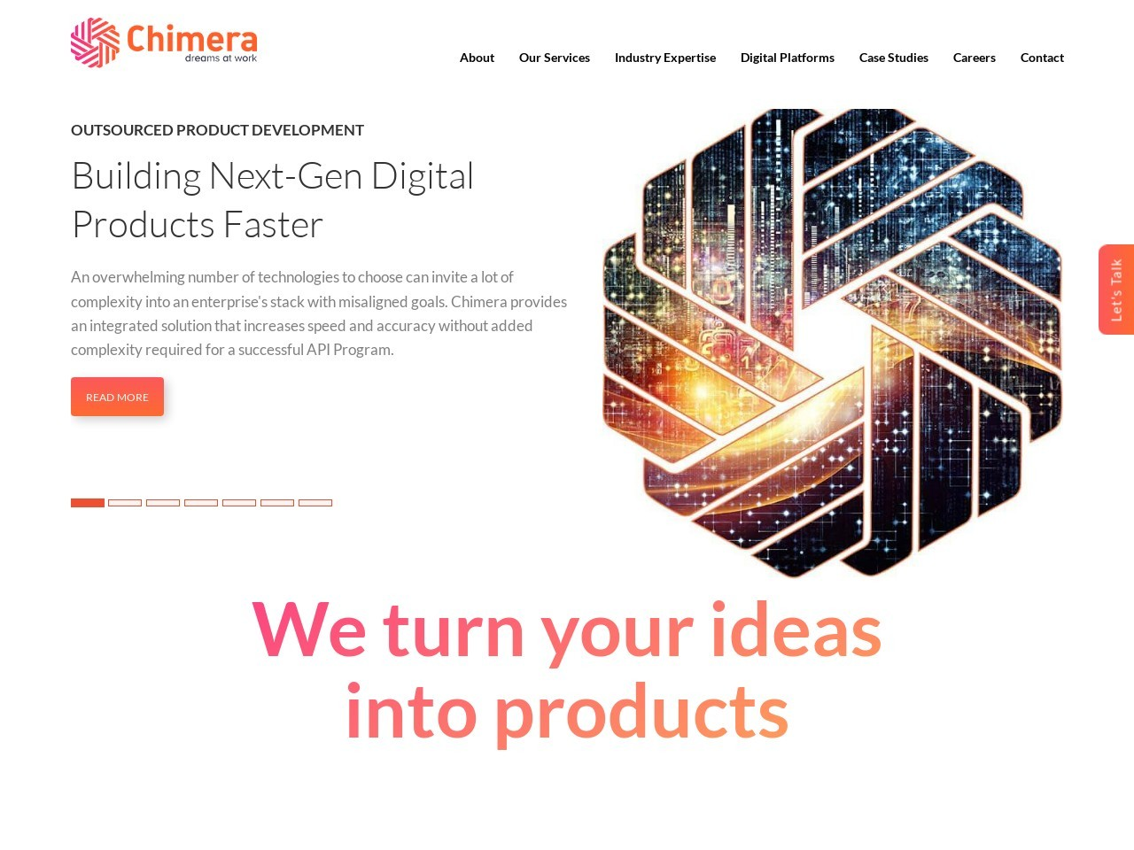 Fintech Software Development Company – Chimera Technologies