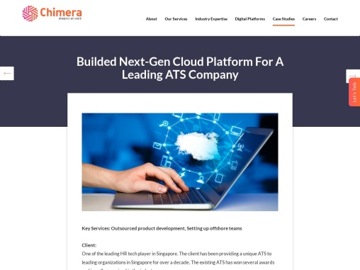 Applicant Tracking System for HR Tech Player