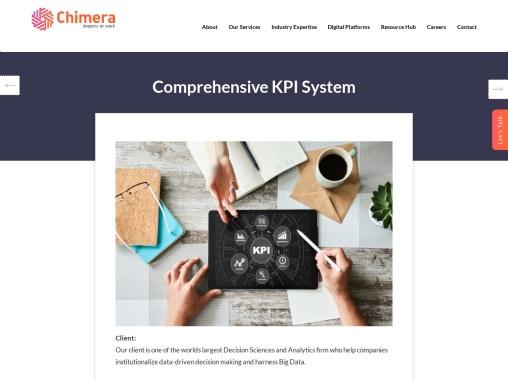 Comprehensive KPI System for Big Data Dashboard